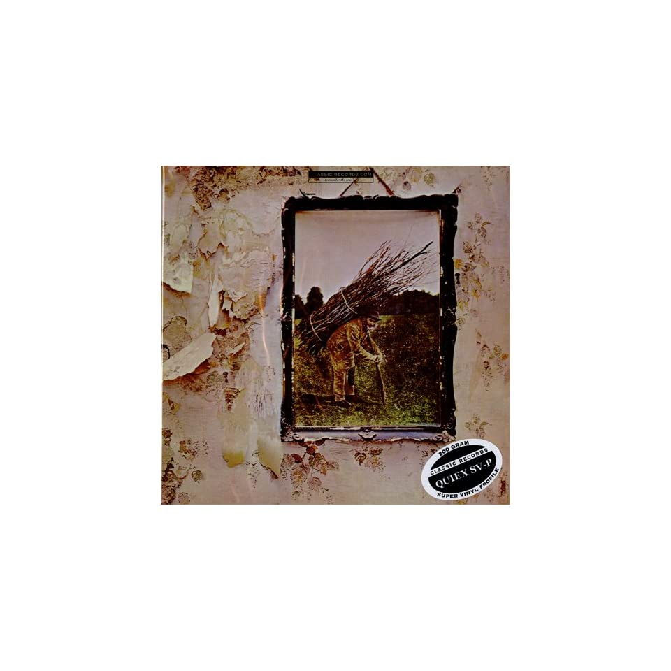 Led Zeppelin   Zepplin IV   200g Quiex SV P Vinyl LP   Classic Records Reissue