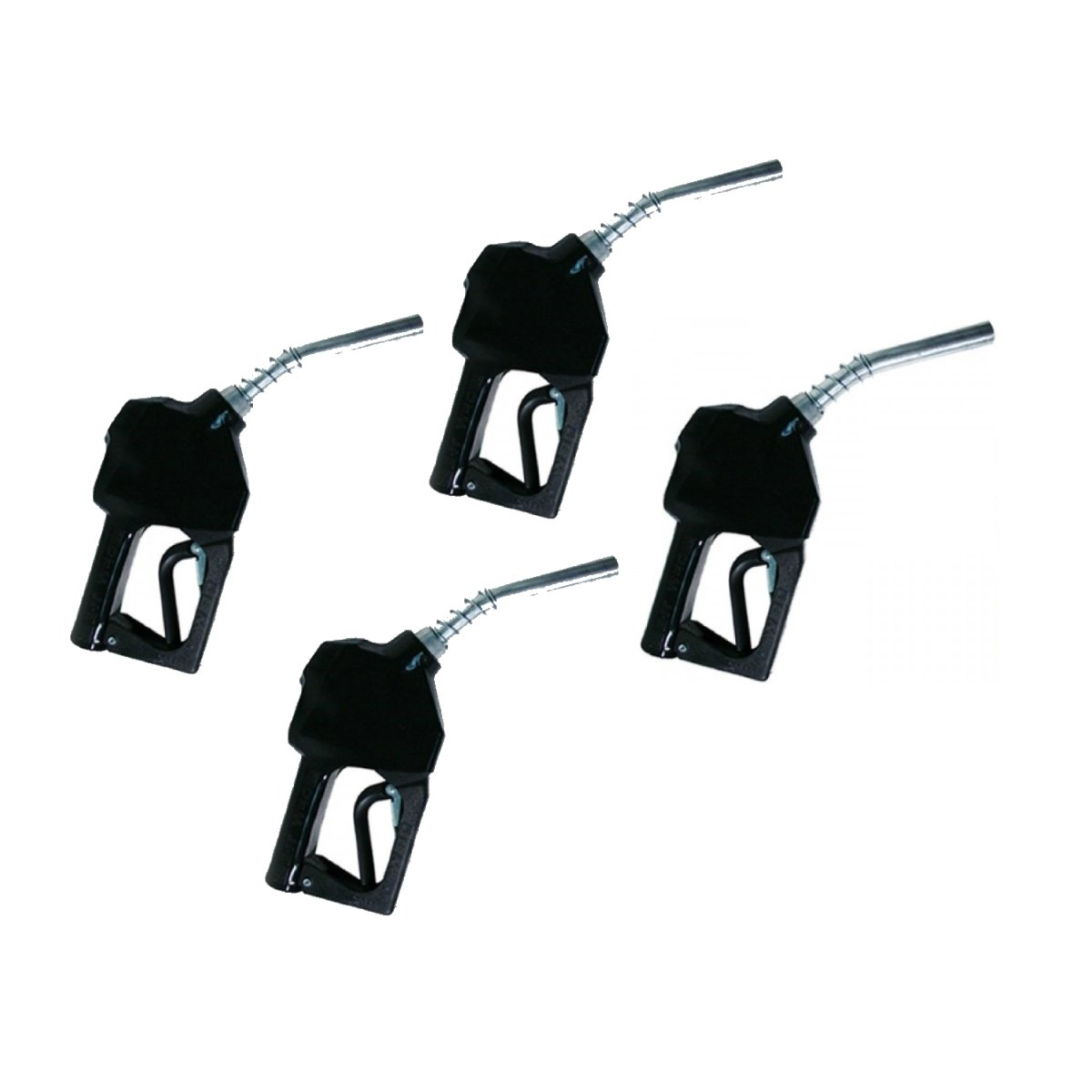 OPW 11BP-0400 3/4 Inch Nozzle 4 Pack - Black
