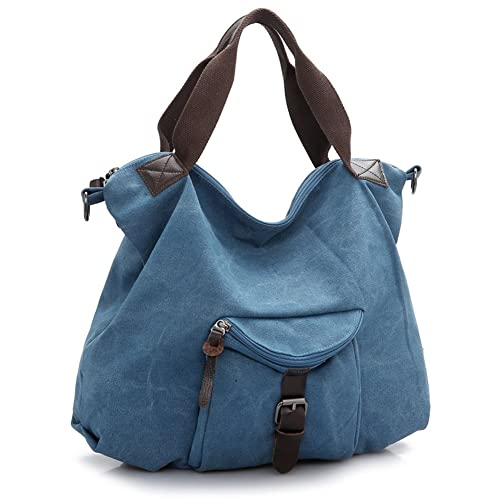 a1323a33e95e MOLLYGAN Women's Oversized Leisure Canvas Travelling Shoulder Bag ...