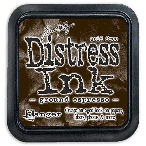 Ranger August Ground Espresso Tim Holtz Distress Ink Pad