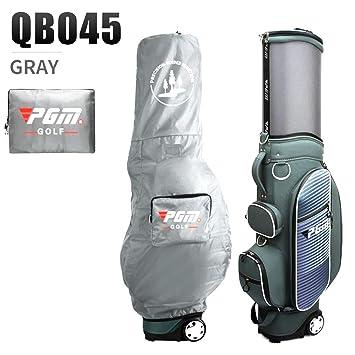 WARMHEAT Pgm Golf Bolsa De Viaje Ruedas Soporte Caddy Airbag ...