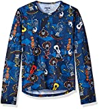 Hot Chillys Youth Pepper Skins Print Crewneck, Mariachi-Navy, X-Large