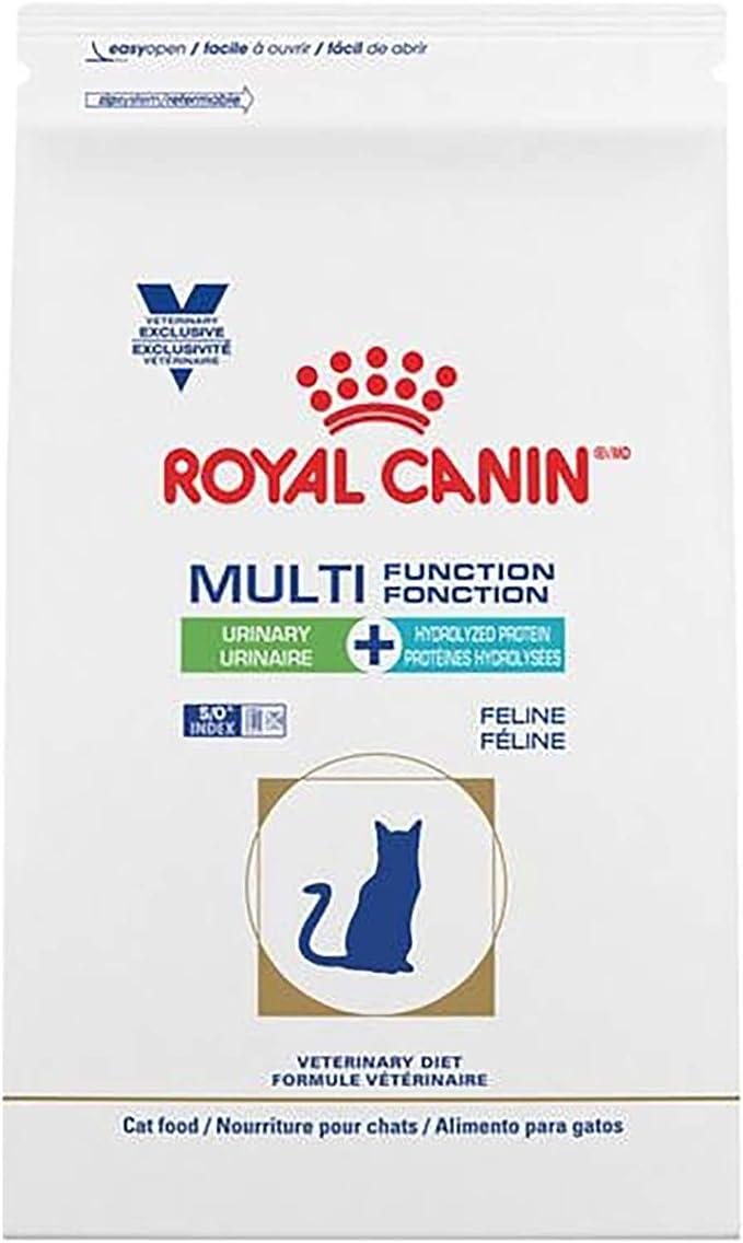 ROYAL CANIN Felina multifunción urinaria + proteína hidrolizada Comida Seca para Gatos 6,6 LB