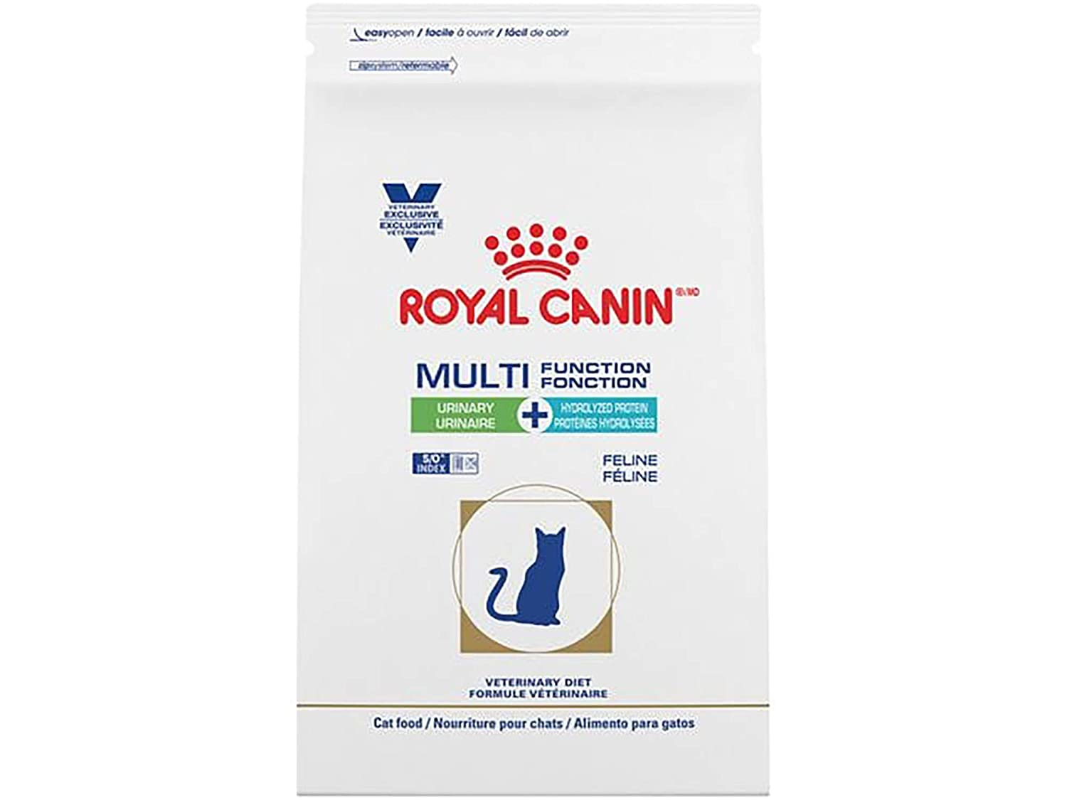 Amazon.com : Royal Canin Veterinary Diet Feline Multifunction Urinary + Hydrolyzed Protein Dry Cat Food 6.6 lb : Pet Supplies
