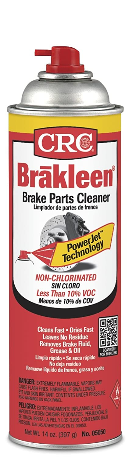 Crc Industries 05050 Non-Chlorinated Brake Parts Cleaner, 14-oz. - Quantity 12