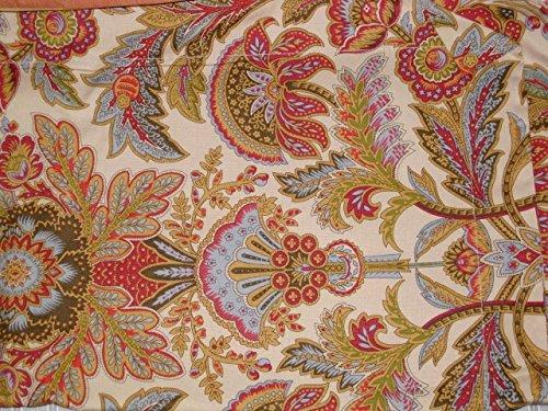 Ralph Lauren King Size Floral 3PC Comforter Set (Autumn Fall Colors) (Ralph Lauren King Quilt)