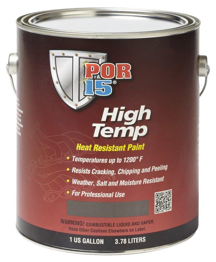 POR-15 44301 Aluminum High Temperature Paint - 1 gal