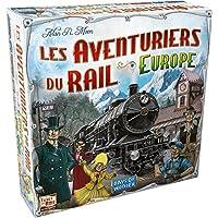 Asmodee AVE02 - Jeu de Stratégie - Les Aventuriers du Rail Europe