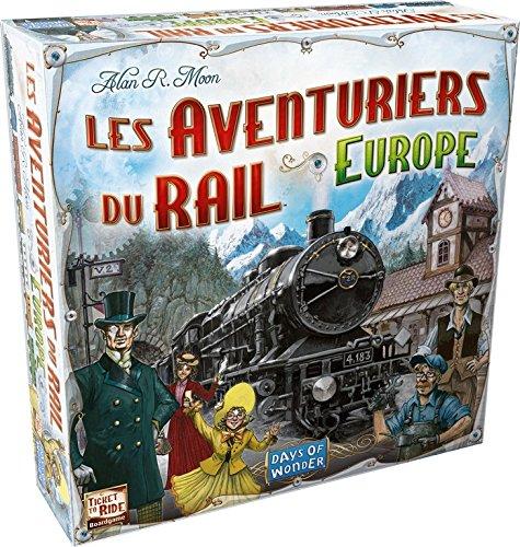 Asmodee - AVE02 - Jeu de Stratégie - Les Aventuriers du Rail Europe product image
