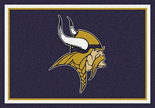 Minnesota Vikings NFL Team Spirit Area Rug by Milliken, 2'8
