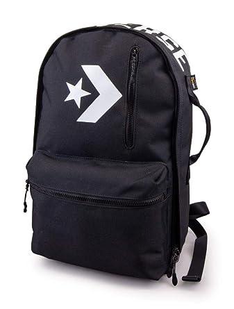 89fa99a9e7be Amazon.com  Converse All Star Logo Bookbag Black  Clothing