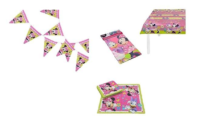 ALMACENESADAN 2572; Pack decoración Disney Minnie Mouse ...