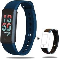 weix inbuy Fitness Tracker Activity Tracker avec OXYMETRE DE POULS Montre et étanche Bluetooth podomètre, 12Sport Bracelet Smart Plus Bracelet Sangle pour adultes et enfants