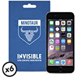 Apple iPhone 7 Screen Protector Pack, Super Clear by Minotaur (6 Screen Protectors)