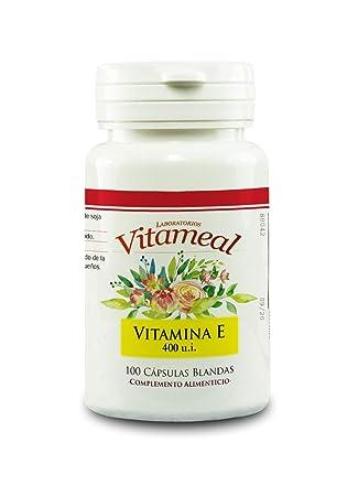 Vitameal Vitamina e Natural - 100 Cápsulas: Amazon.es: Salud ...