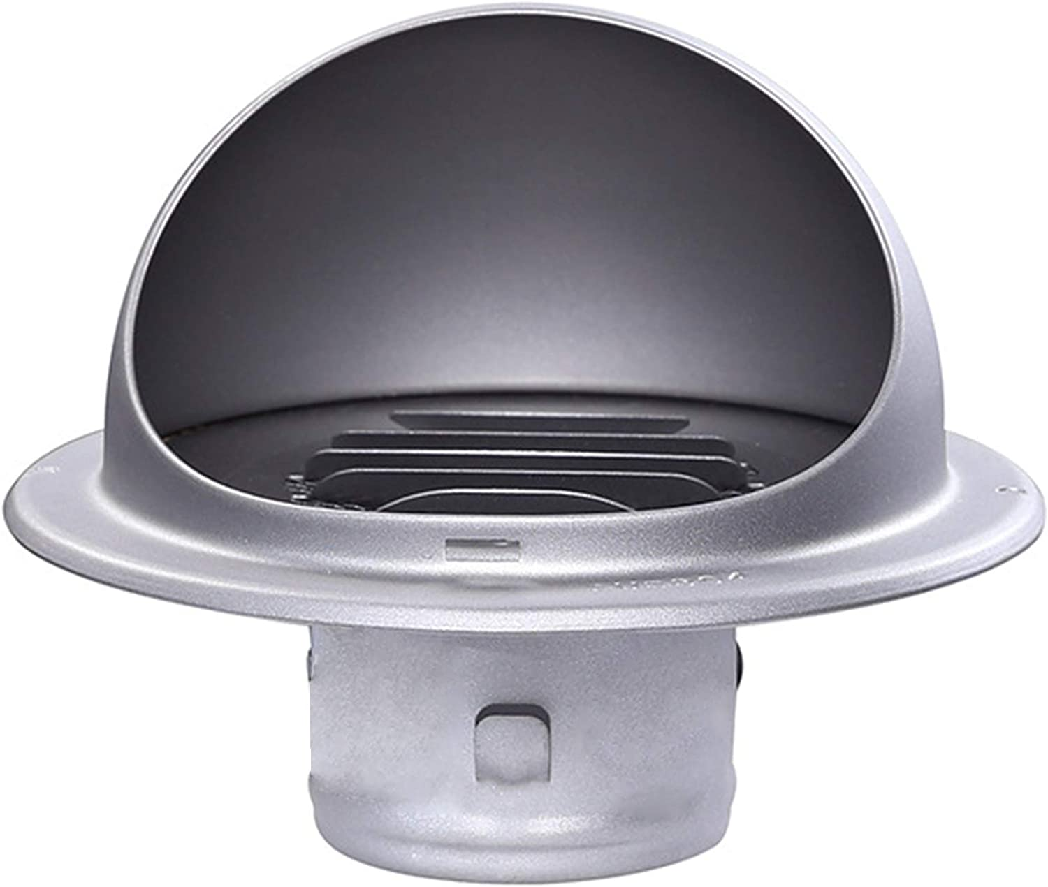 LTLJX Stainless Steel Roof Chimney Flue Cowl Pipe Rain Cover Protector Cap Ending Heating Stove Exhaust Pipe Vent,80MM