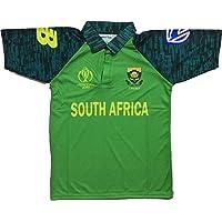 GOLDEN FASHION Unisex South Africa Cricket World Cup Jersey 2019 Digital Print