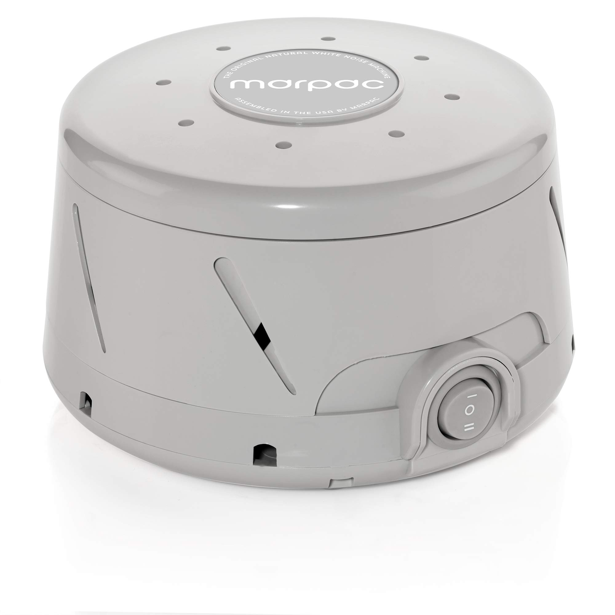 Marpac Dohm Classic (Gray)   White Noise Machine   101 Night Trial & 1 Year Warranty   Soothing Sounds from a Real Fan Helps Cancel Noise While You Sleep   for Adults & Children