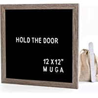 black felt letter board 12x12 inches muga 12x12 letter board with changeable letters