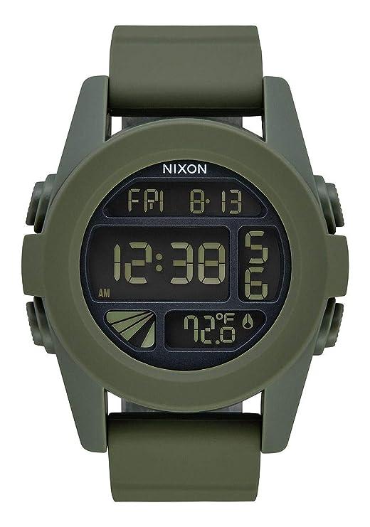 Nixon Reloj Analógico para Unisex Adultos de Digital con Correa en PU A197-1085-00: Amazon.es: Relojes