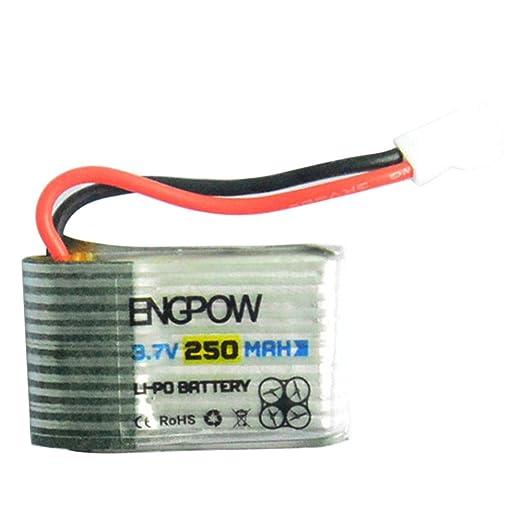 Actualización 3,7 V 250 mAh batería de polímero de litio cargador ...