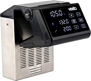 Sous Vide Precision Cooker by Vesta Precision - Imersa Pro   Powerful Pump Design   Accurate, Stable Temperature Control   Wi-Fi App Control   Touch Panel   30 Liters   1200 Watts