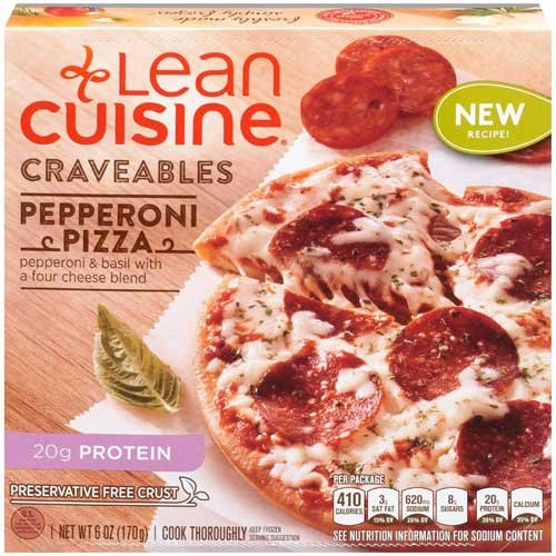 Lean Cuisine Pepperoni Pizza, 6 Ounce - 8 per case.