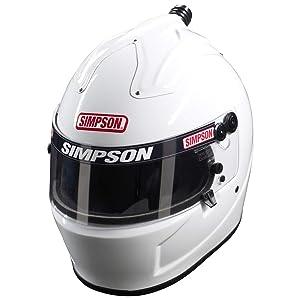 Simpson 6777342 Air Inforcer Shark Helmet 2015 7 3/4 Blk