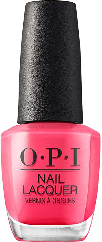 Opi Nail Polish Strawberry Margarita 15 Ml Amazon Co Uk Luxury Beauty