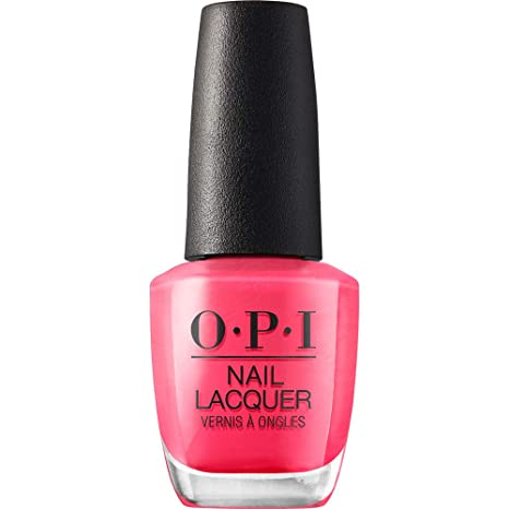 Amazon Com Opi Nail Polish Nail Lacquer Strawberry Margarita Bright Pink Nail Polish 0 5 Fl Oz Premium Beauty