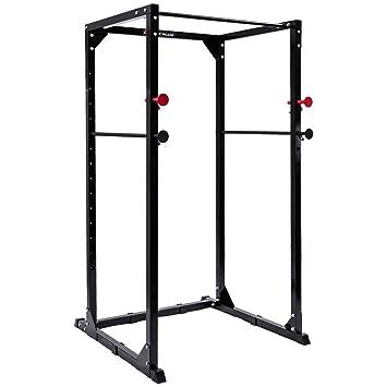 gymax Power jaula Rack ajustable resistente Fitness musculación ...