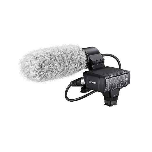 2 opinioni per Sony XLR-K2M Kit Adattatore con Microfono monoaurale ECM-XM1 e protezione