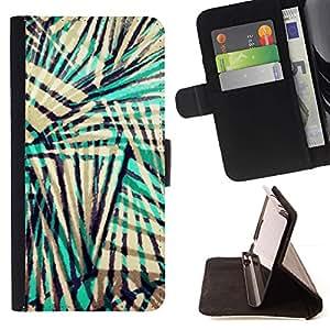 For Apple iPhone 5C Case , Colores Beige Negro Teal- la tarjeta de Crédito Slots PU Funda de cuero Monedero caso cubierta de piel