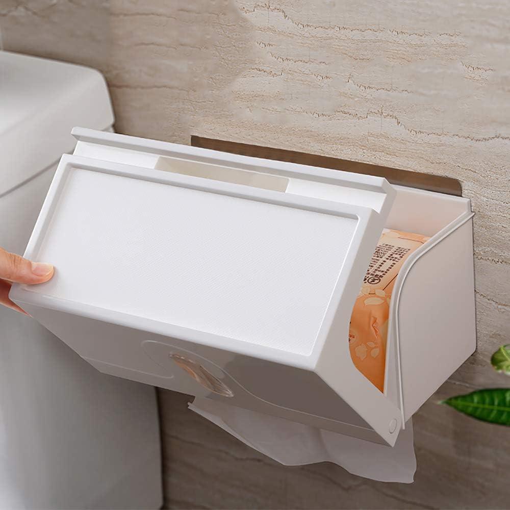per uso commerciale Aoory Dispenser da parete per asciugamani di carta acrilica multiuso
