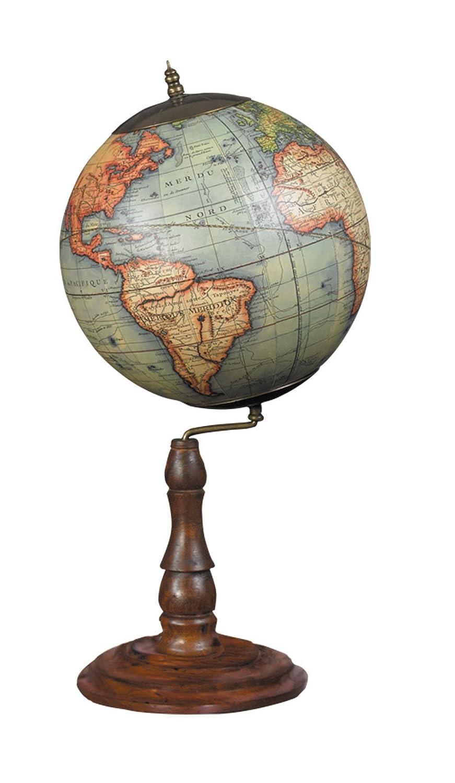 Authentic Models gl021 F Vaugondy Globe 1745 Miel Acabado de francés