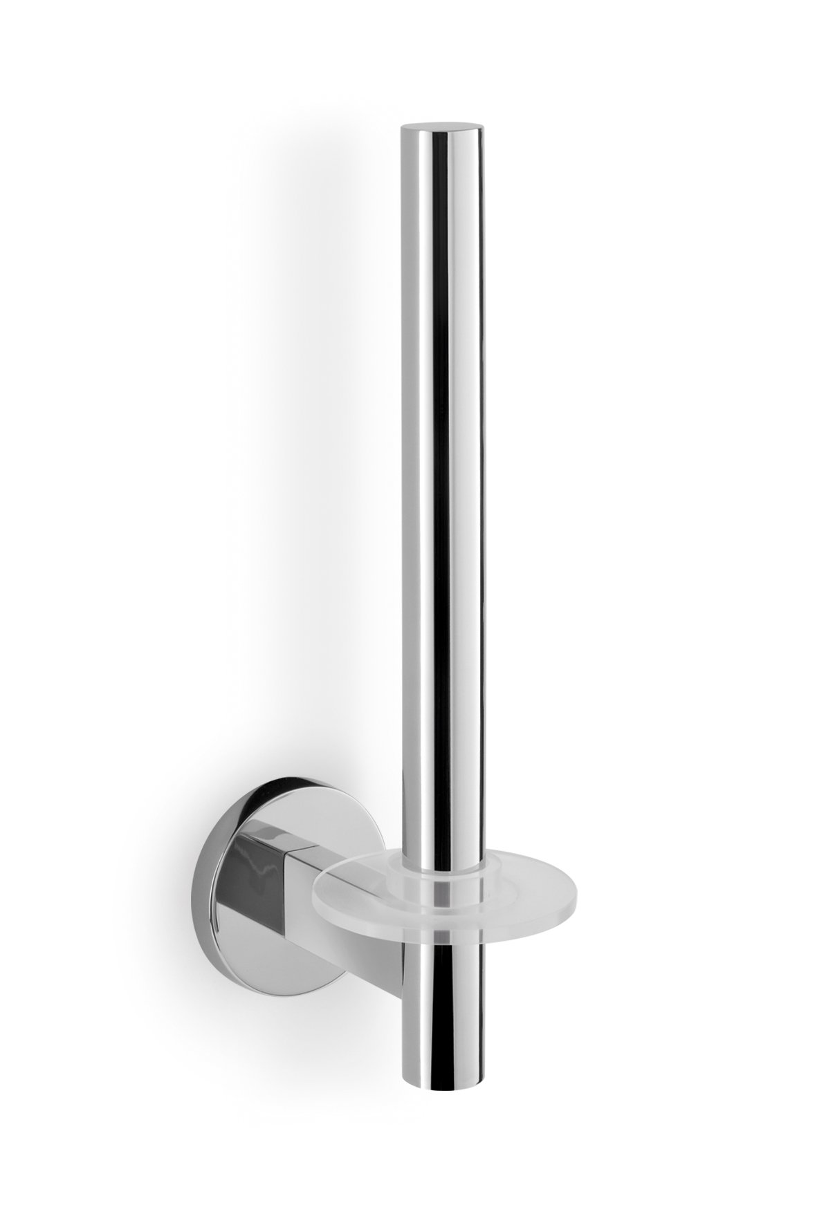 Zack 40053 Scala Wall Mounted Spare Toilet Roll Holder, 9.84 by 2.36 by 4.26-Inch