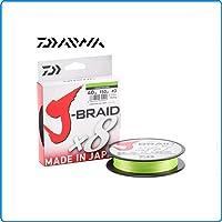 Daiwa Angelschnur J-Braid X4 geflochten gelb Anglerschnur 5,00€//je 100m