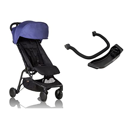 Mountain buggy Nano V2 cochecito Nautical + frontal + bandeja – Arco (Incluye Bolsa de