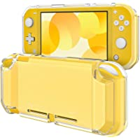 TiMOVO Clear Cover for Nintendo Switch Lite Case, Frosted Translucent TPU Protective Case Shell with Anti-Slip Grip for…