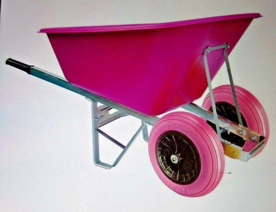 Extra large waterproof wheelbarrow cover with personalised embroidery