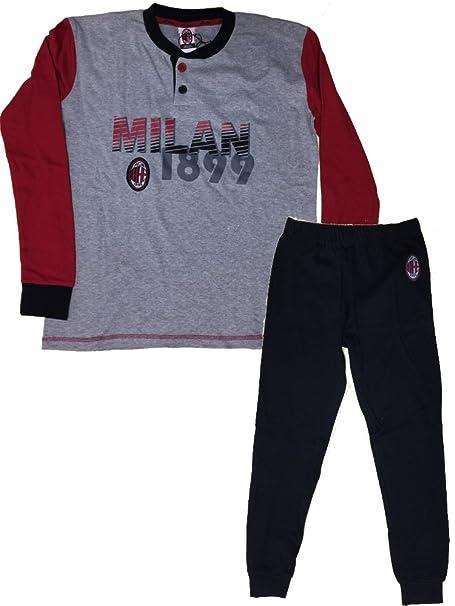 Ropa de fútbol pijama niño niño Serafino AC Milan * 17348 Mezcla de grises 14 años