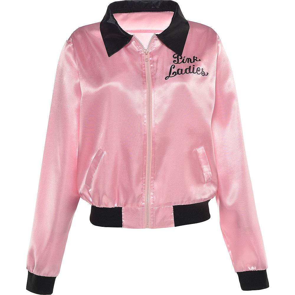 Suit Yourself Pink Ladies Jacket for Women, Grease Costumes, Plus Size (Dress Size 14-16)