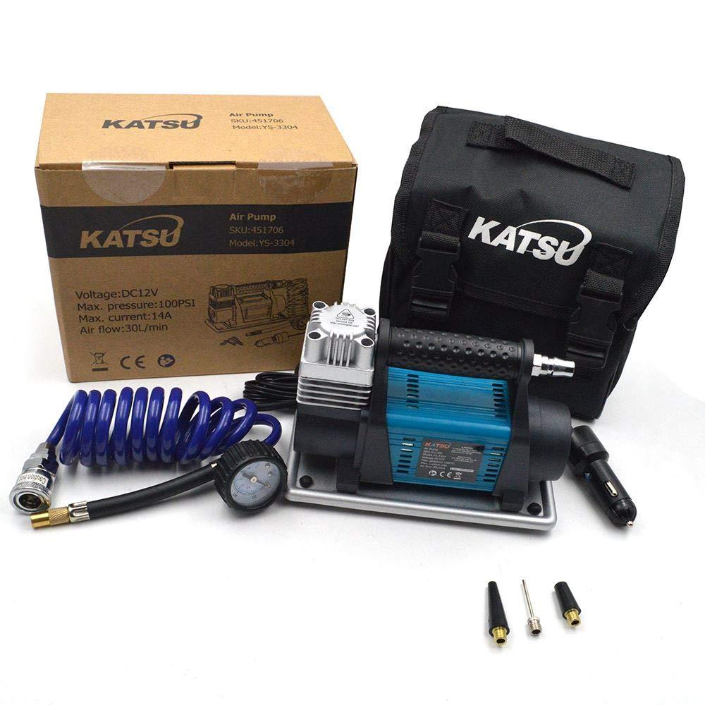 Katsu Heavy Duty Auto-Reifenf/üller 30 A 12 V strapazierf/ähig