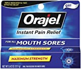 Orajel Orajel Mouth Sore Pain Relief Gel, 0.42 oz