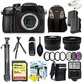 Panasonic Lumix DMC-GH4 Mirrorless Micro Four Thirds Digital Camera (Body) + Pixi-Advanced Accessories Bundle