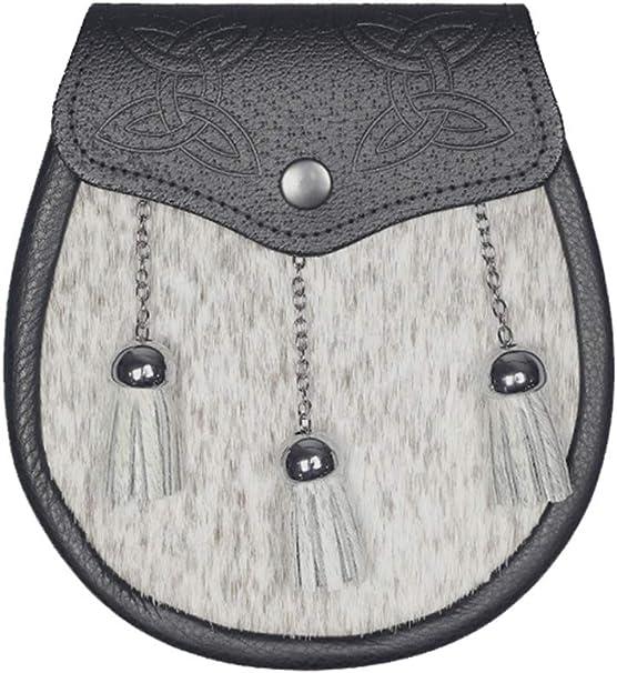 New diseño celta escocesa crema Semi para falda escocesa bovina e ...