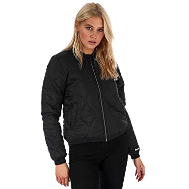 fashion styles enjoy discount price selected material Amazon.com: Bench Women's Core Bomber Jacket 8 Black: Bench ...