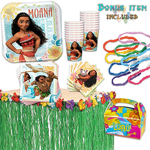 Moana Birthday Party Pack 16 PACK BONUS