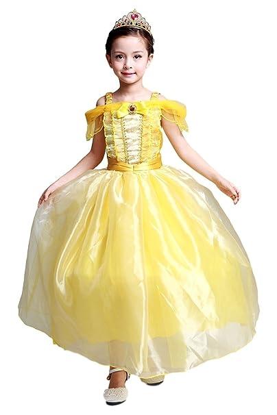 Accesorios para vestido amarillo corto