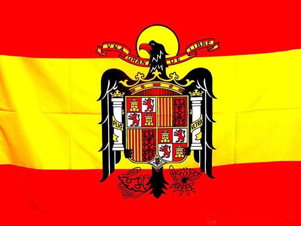 Tiendas LPG - Bandera de ESPAÑA Escudo Águila de San Juan, 138 x ...